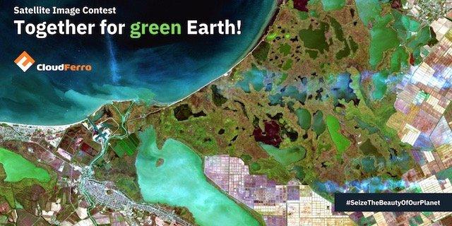 Konkurs CloudFerro na najbardziej klimatyczne zdjęcia satelitarne Ziemi