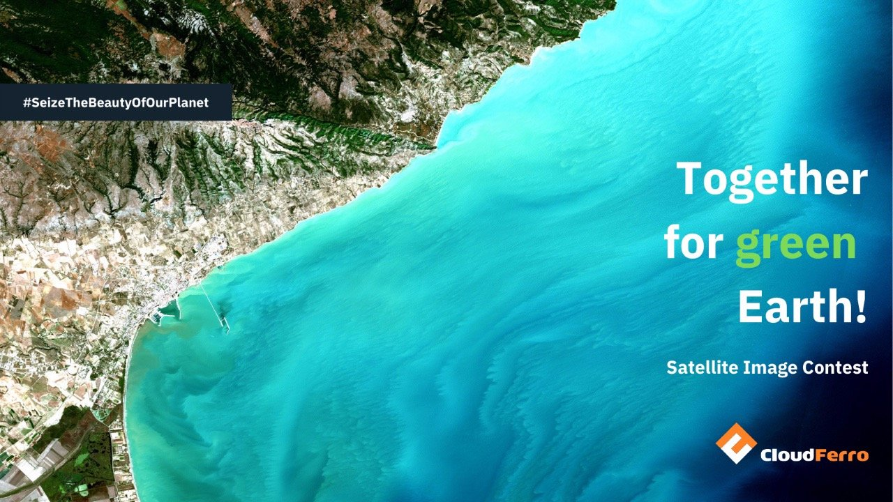 Competition by Cloud Ferro for the best satellite image of the Earth's climate change