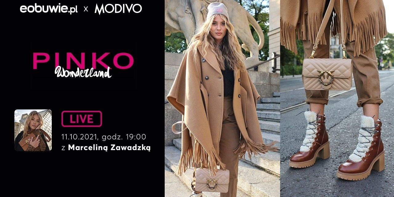 PINKO Wonderland: live eobuwie.pl x MODIVO