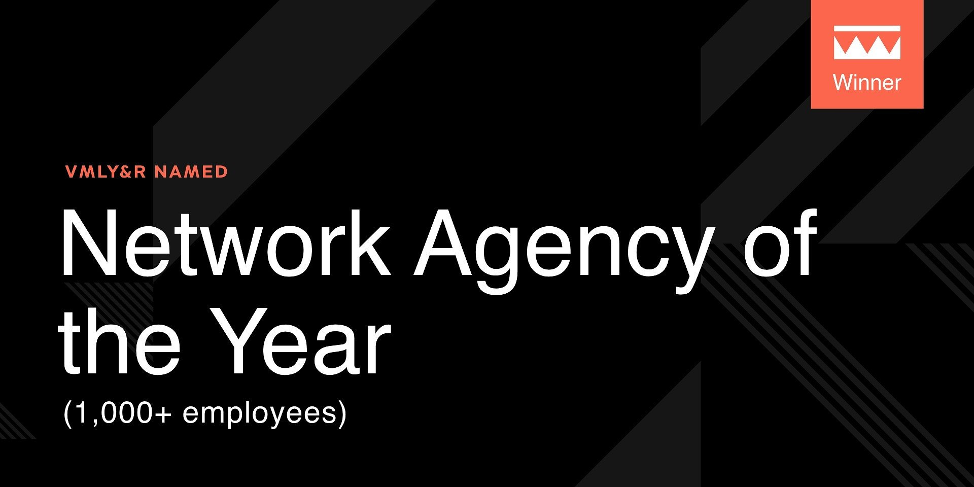 The Drum: VMLY&R z tytułem Network Agency of the Year