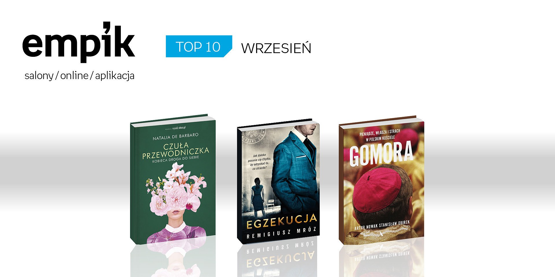 Wrześniowe bestsellery książkowe w Empiku