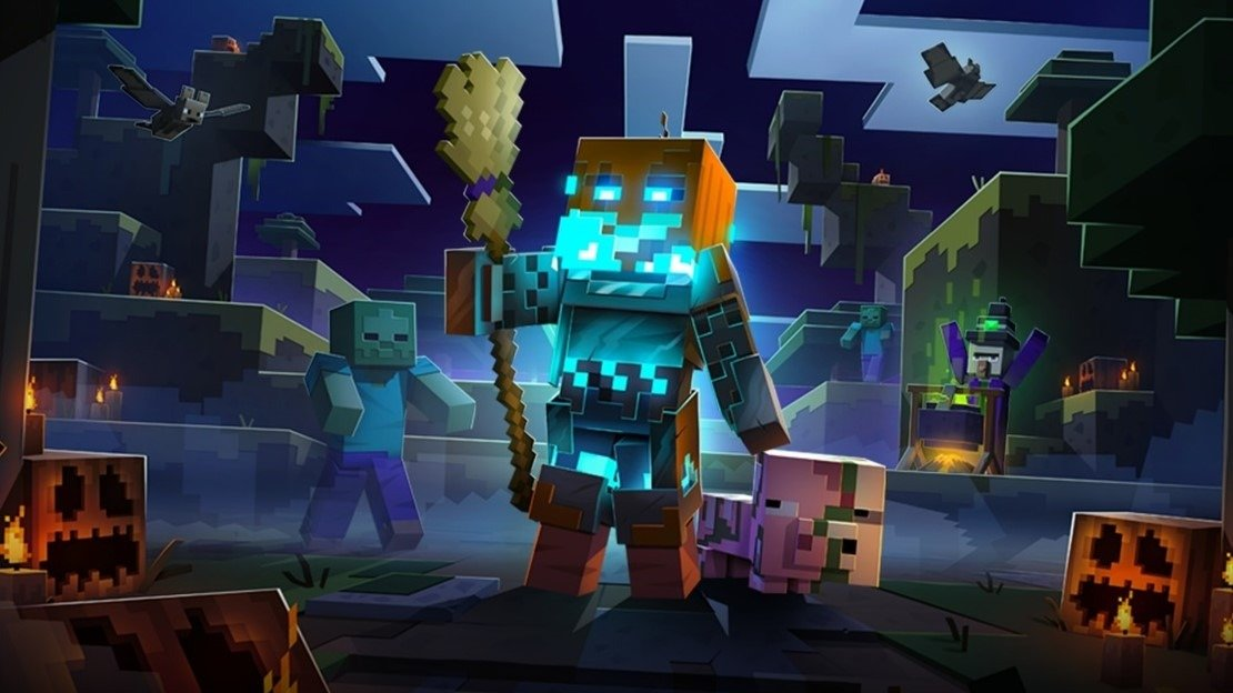 O evento Minecraft Dungeons Spookier Fall está aqui!
