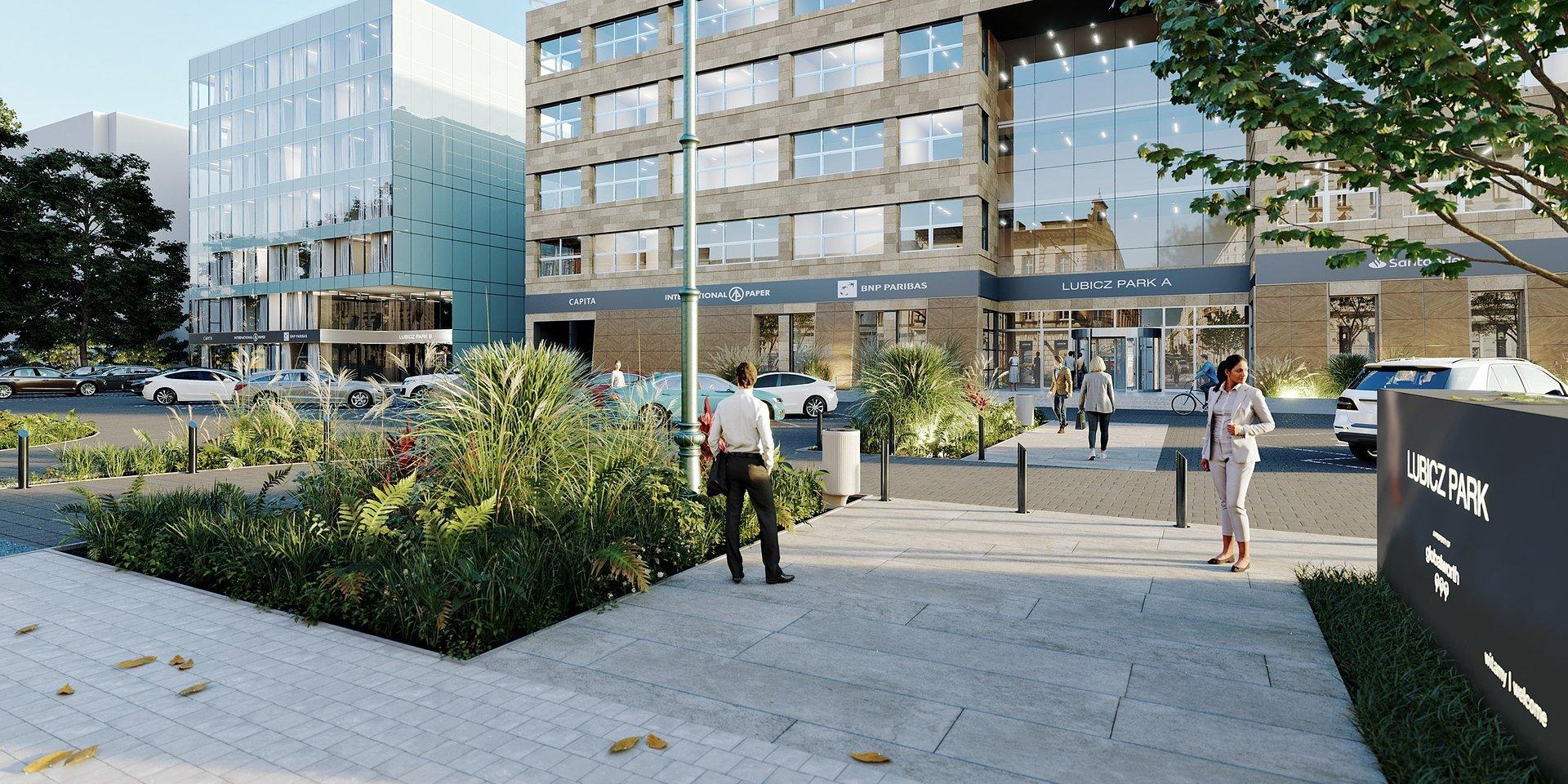 Centrum Biurowe Lubicz przejdzie metamorfozę. Będzie nowocześnie i zielono