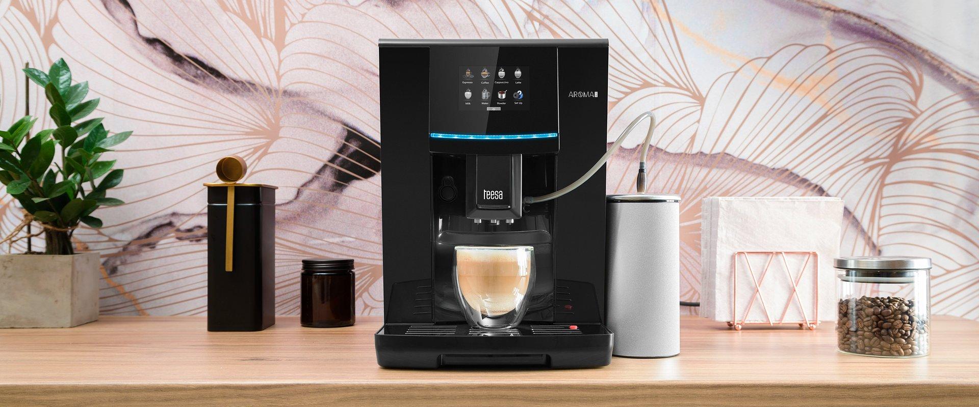 Teesa wprowadziła do oferty nowoczesny ekspres automatyczny Aroma 800