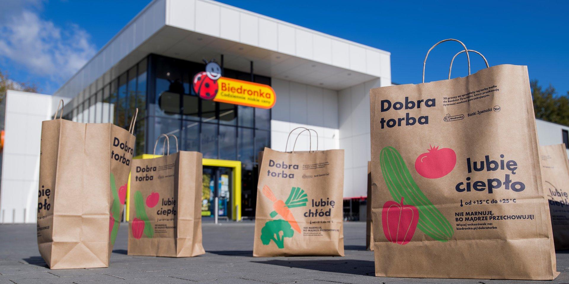 Blisko 70% przekazywanej do OPP żywności w Polsce pochodzi od Biedronki