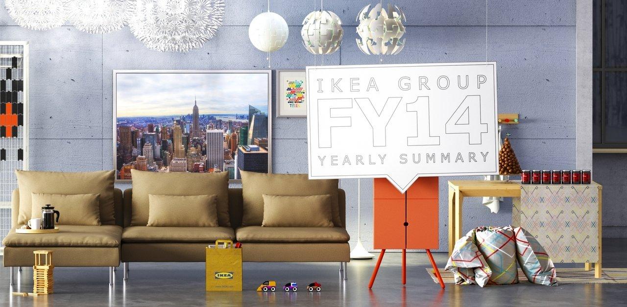Dochód netto Grupy IKEA wyniósł 3,3 mld euro