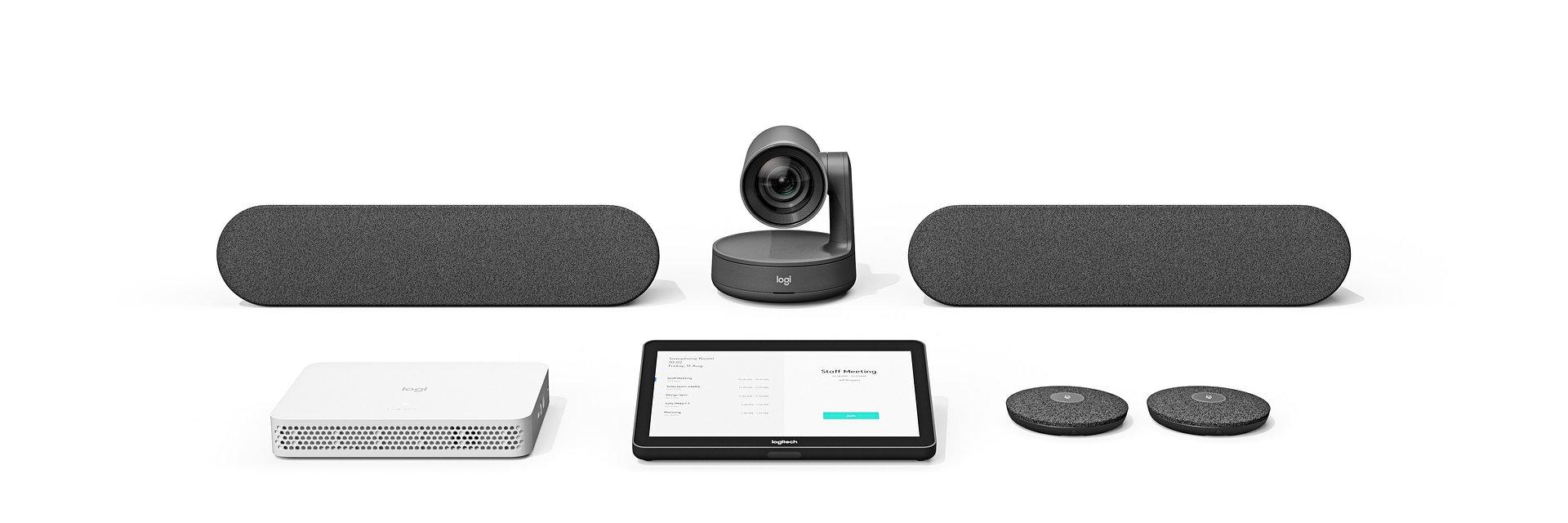Prosta i kompleksowa obsługa spotkań wideo – Logitech RoomMate w sprzedaży