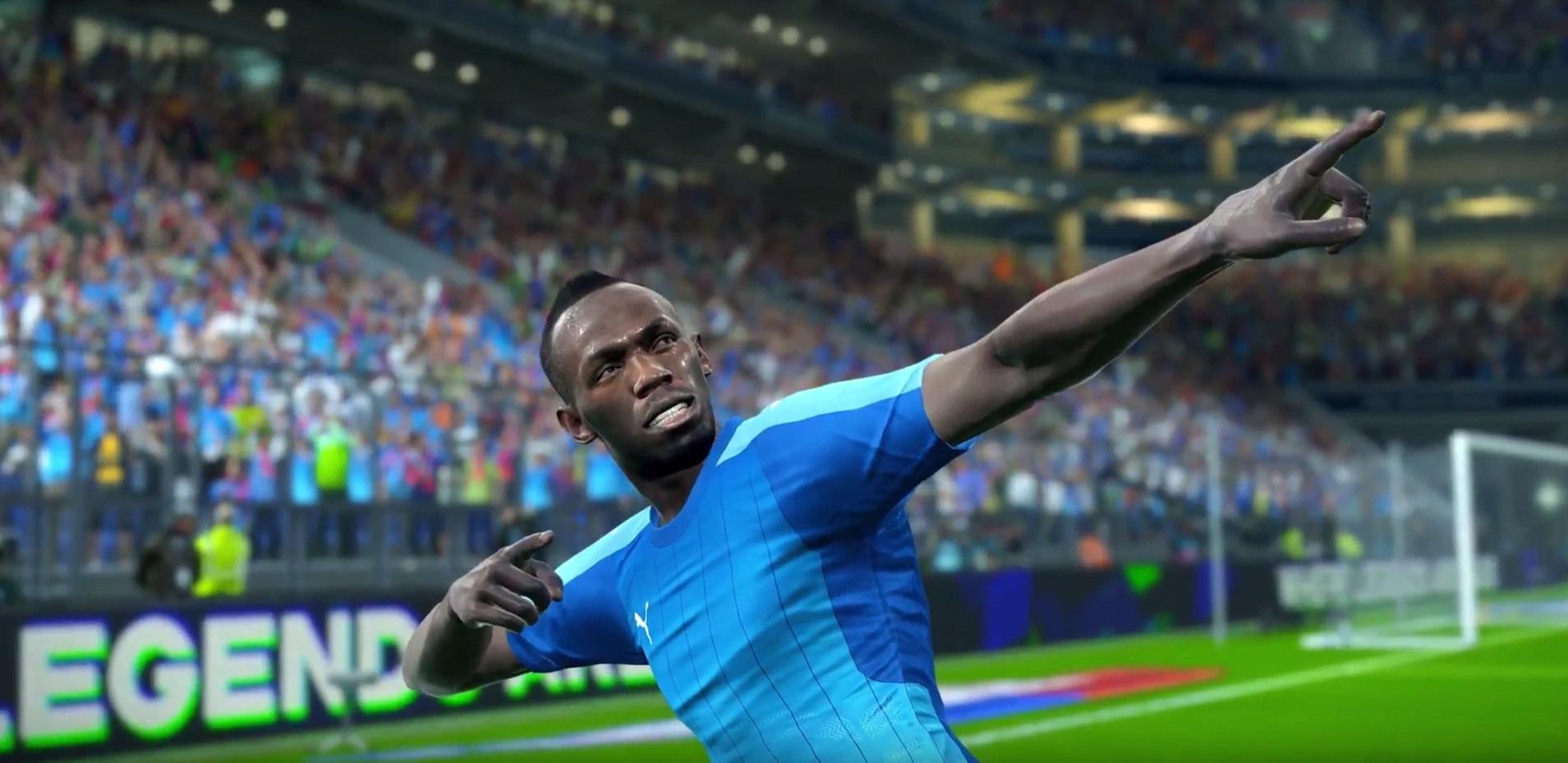 Usain Bolt ambasadorem PES 2018. Mistrz olimpijski będzie zawodnikiem w tegorocznej odsłonie serii