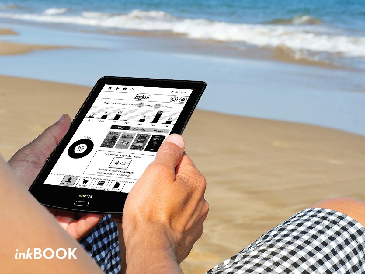 Czytaj cały miesiąc za darmo z czytnikami inkBOOK i Legimi Bez Limitu