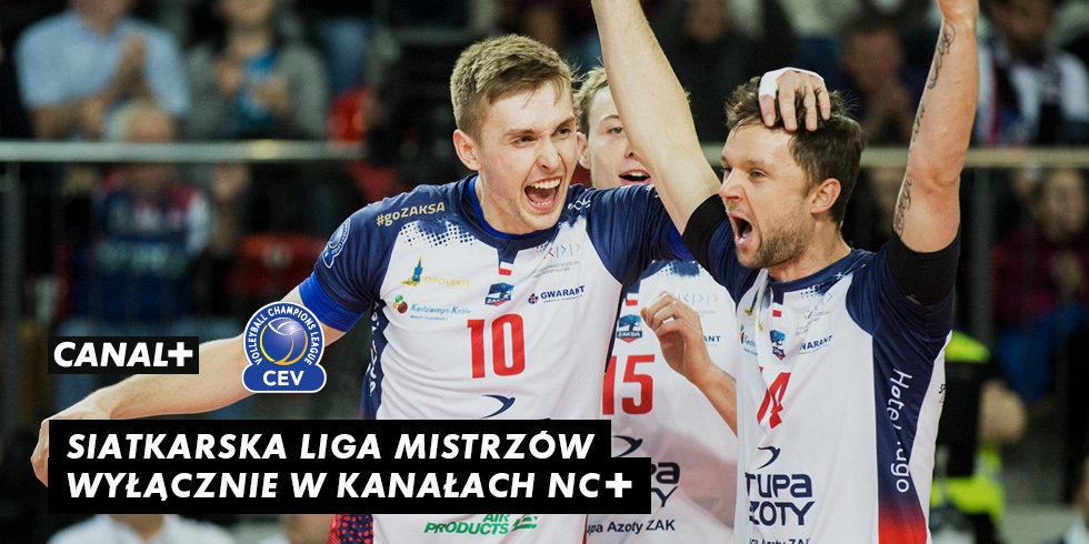 Platforma nc+ po raz pierwszy przejmuje prawa do siatkarskiej Ligi Mistrzów CEV