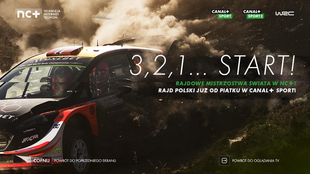 Wspaniała informacja dla fanów sportów motorowych! Platforma nc+ nabywa prawa do transmisji Rajdowych Mistrzostw Świata (WRC)