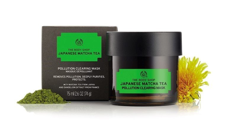 Nowa wegańska maska od The Body Shop - Japanese Matcha Tea