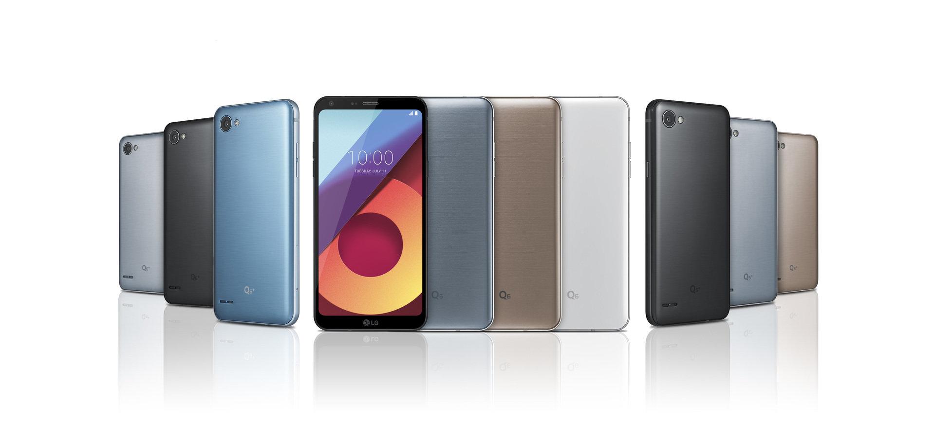 Premiera: LG Q6 pierszy smartfon klasy średniej z ekranem FULL VISION wchodzi na globalny rynek