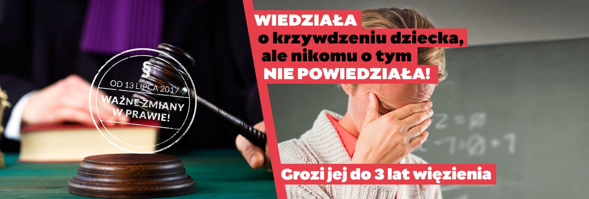"""Fundacja Dajemy Dzieciom Siłę rusza z kampanią informacyjną """"Reaguj - to Twój prawny obowiązek!"""" nt. zmian w polskim prawie"""