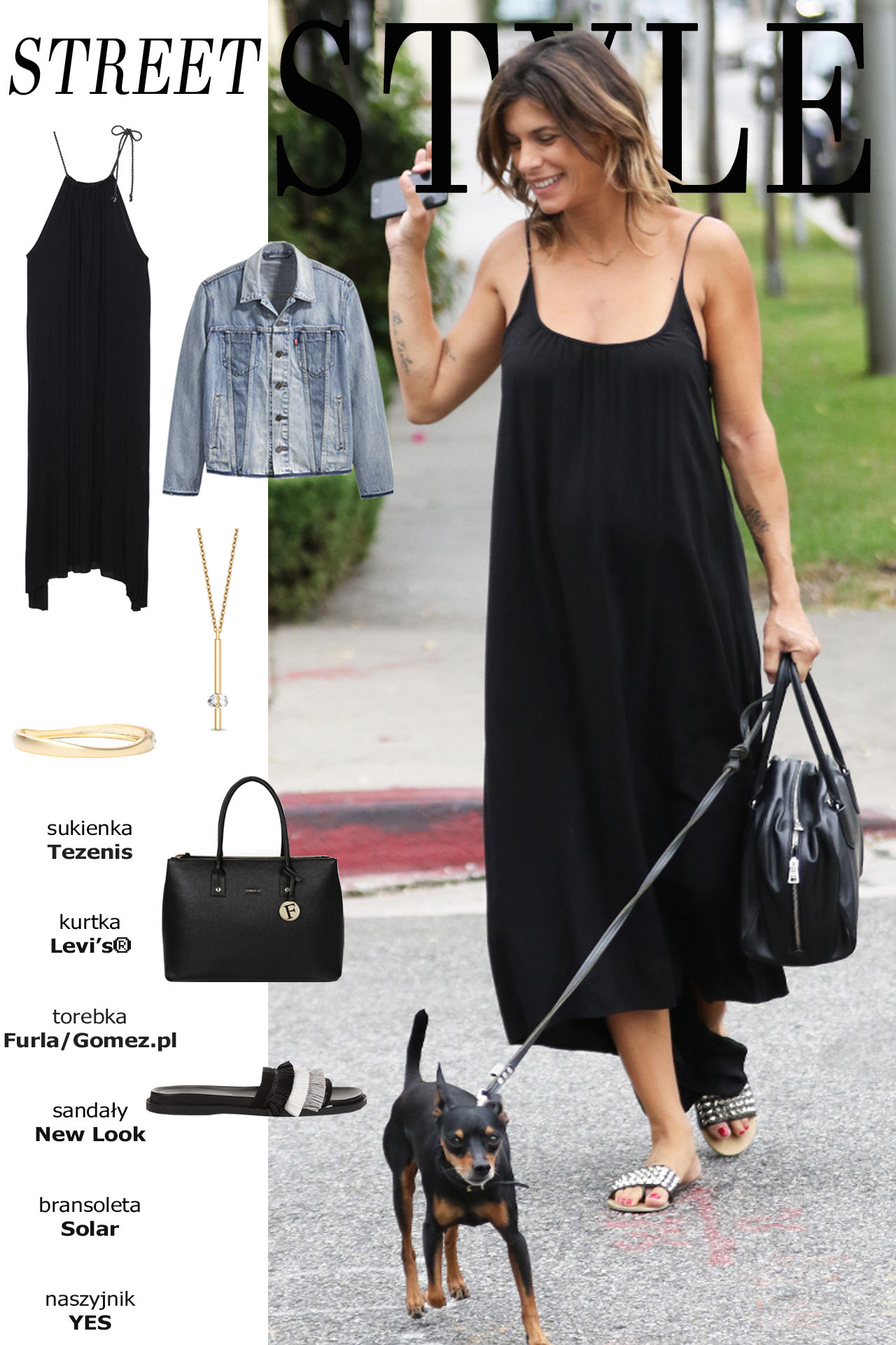Street Style – Sukienka maxi