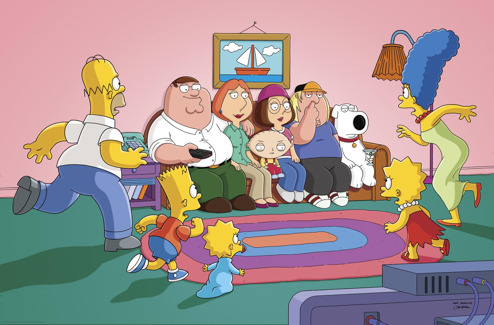 Griffinowie spotykają Simpsonów! Family Guy: Głowa rodziny już 22 lipca tylko na FOX Comedy!