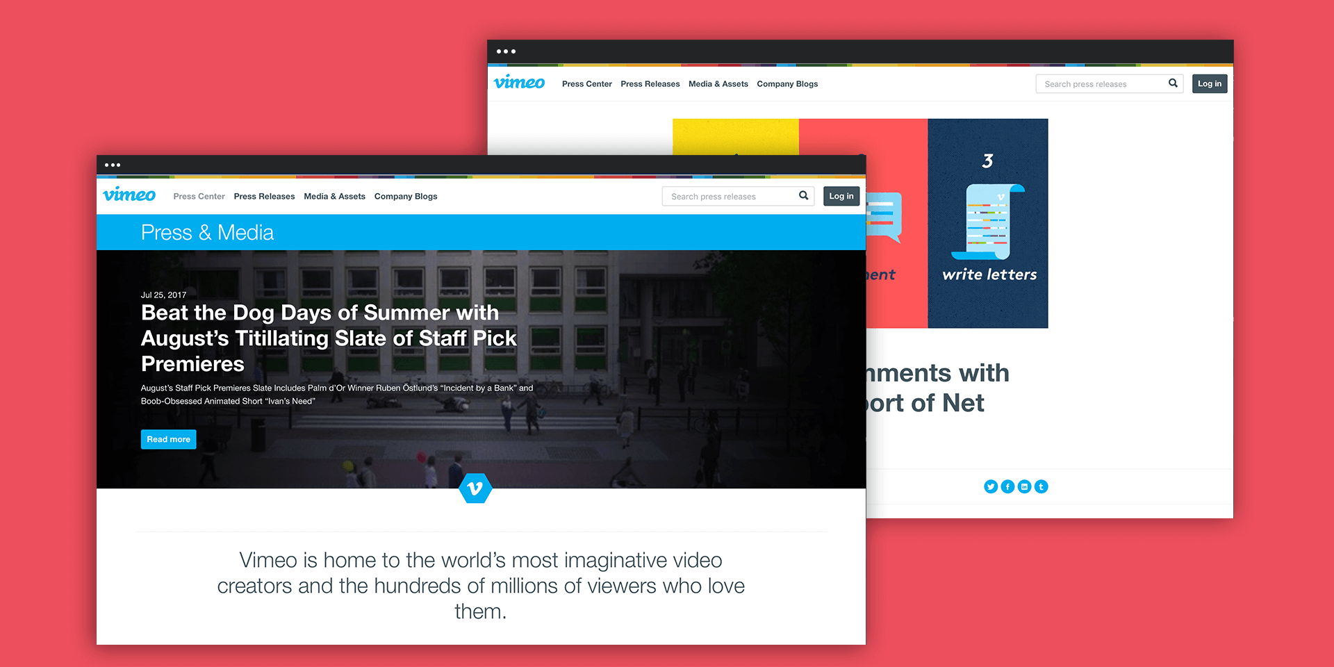 Vimeo and Prowly App Show That Brand Newsrooms Don't Have to Be Boring