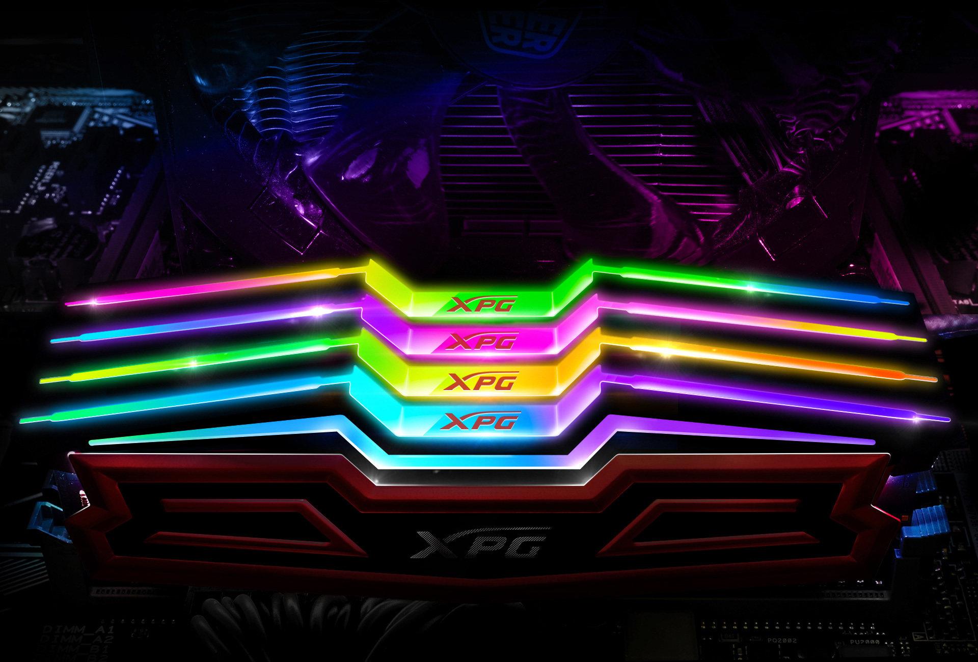 ADATA XPG SPECTRIX D40 – nowe pamięci DDR4 z podświetleniem LED RGB