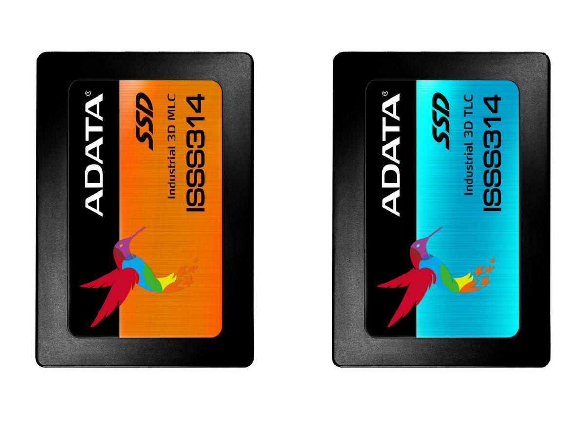 ADATA ISSS314 – dyski SSD z pamięciami 3D NAND do zastosowań przemysłowych