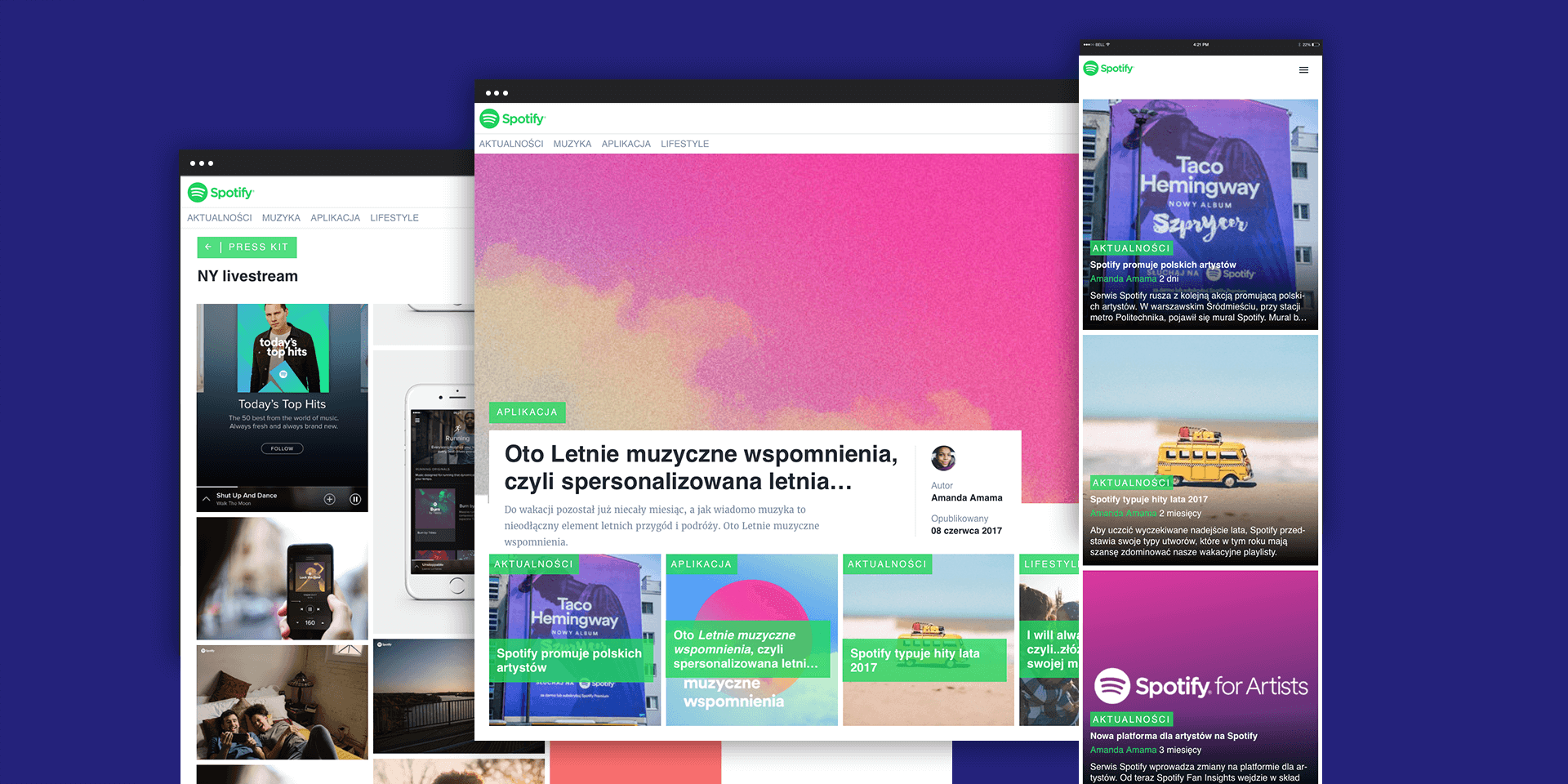 Spotify Launches the First Prowly Brand Journal in Poland