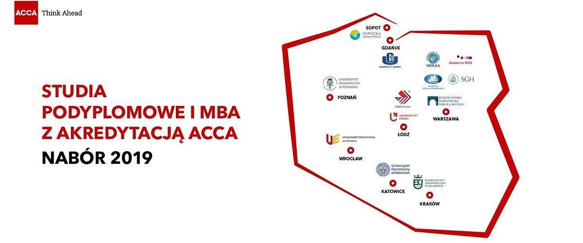 Studia podyplomowe i MBA z akredytacją ACCA