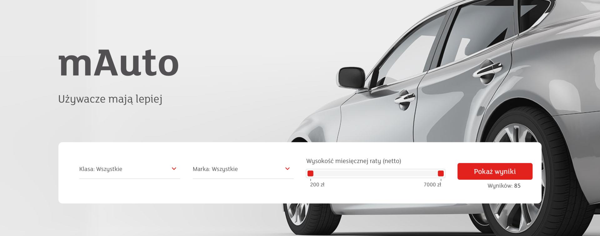 VML Poland wdraża serwis internetowy mAuto