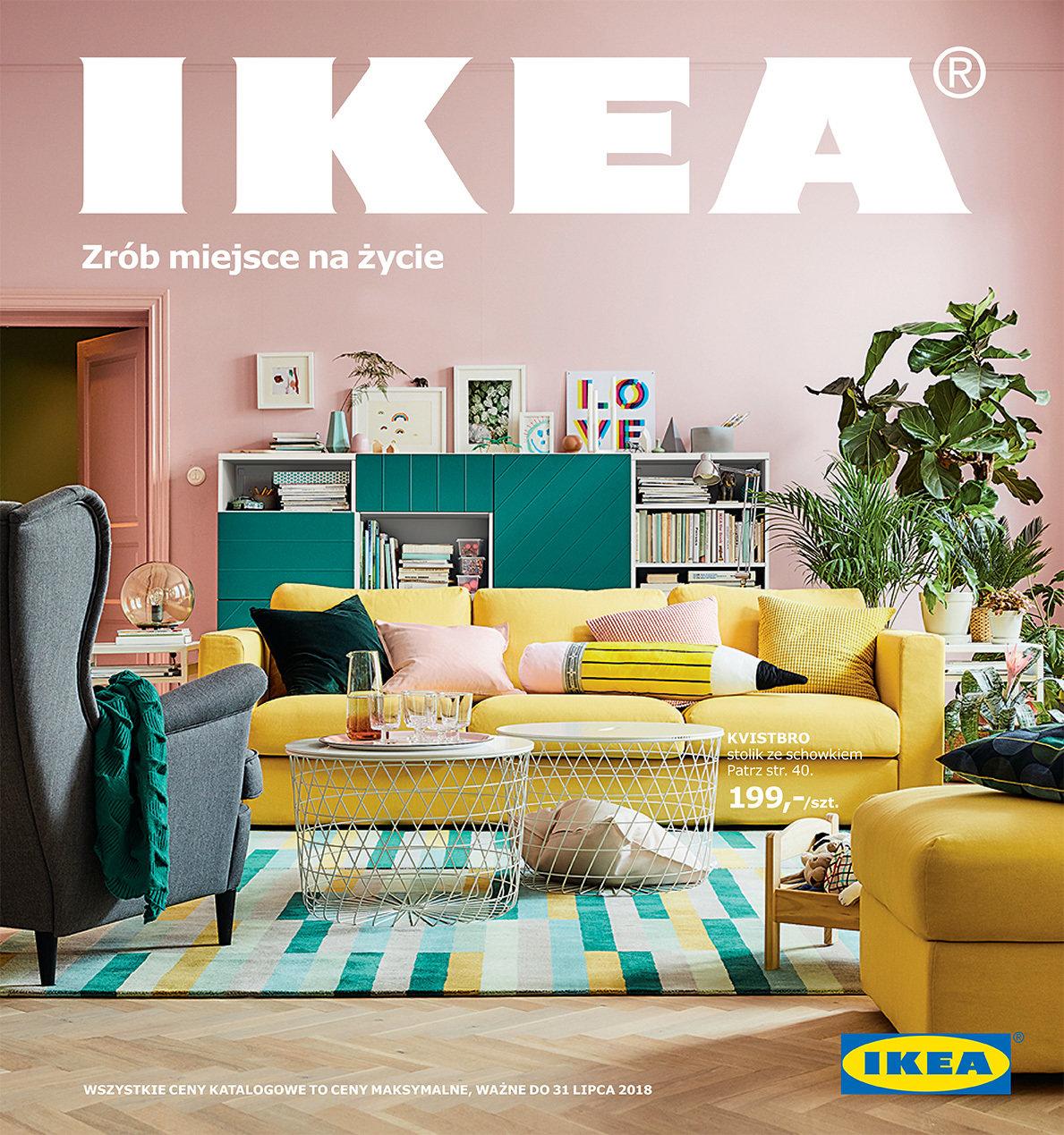 życie To Zmiany Zrób Na Nie Miejsce Nowy Katalog Ikea 2018