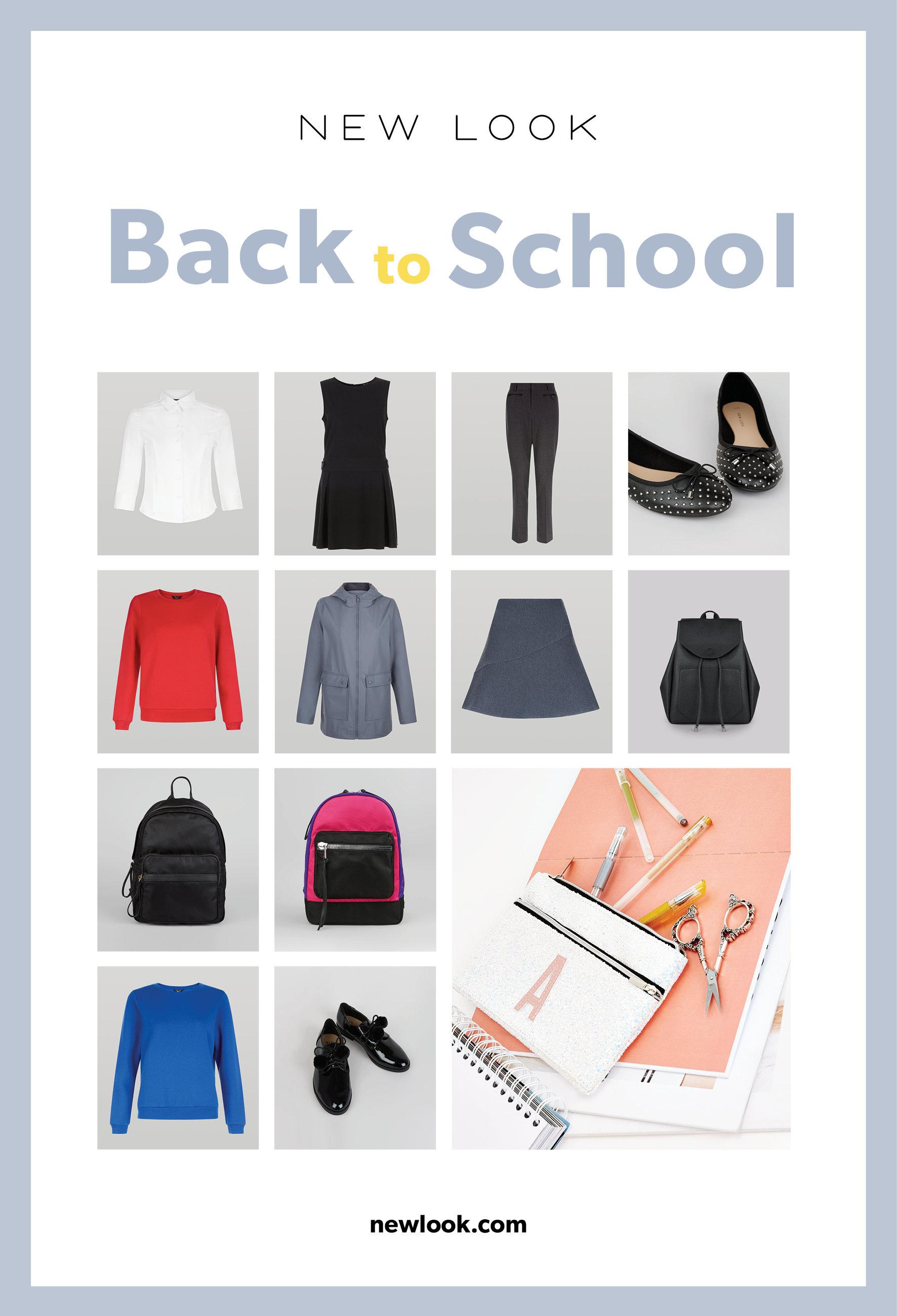 BACK TO SCHOOL Z NEW LOOK