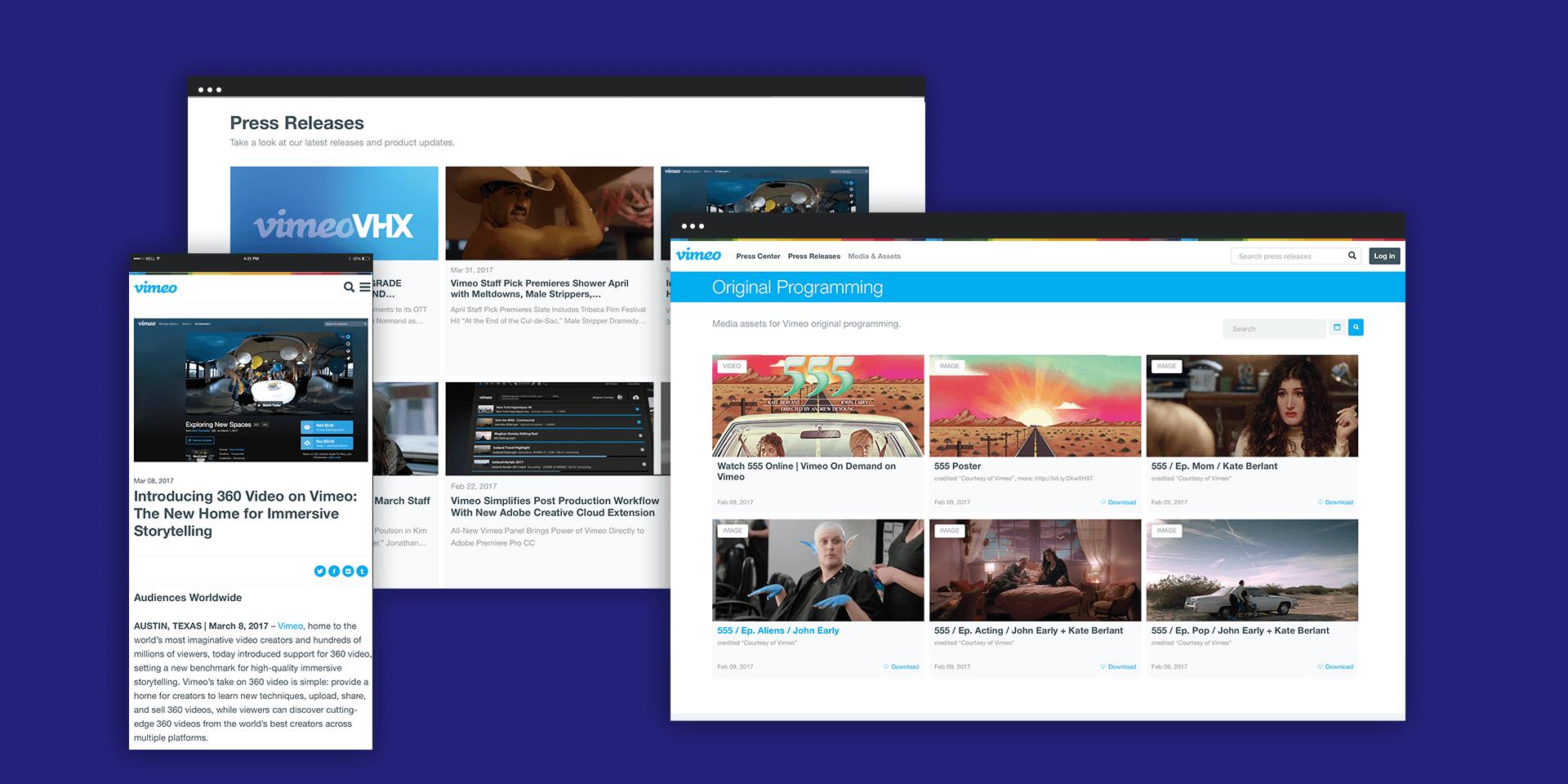 Brand Journal Vimeo: design, który determinuje nowy model promocji treści