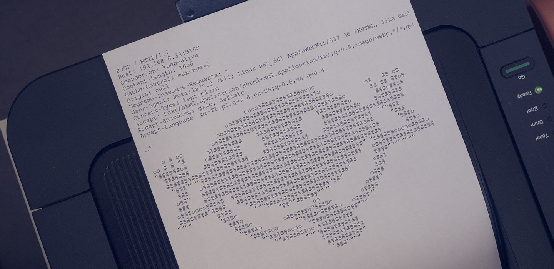 Drukarki, ASCII-Art i JavaScript