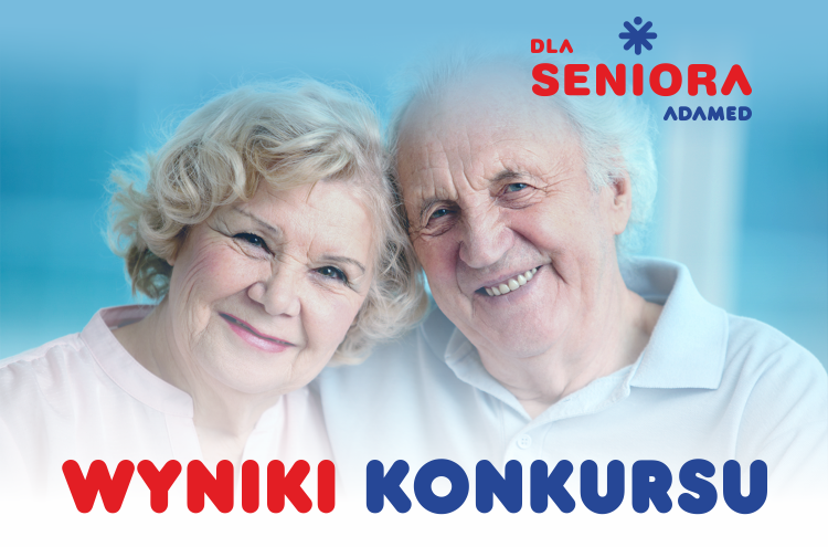 """Znamy trzy zwycięskie organizacje konkursu """"Adamed dla Seniora"""""""