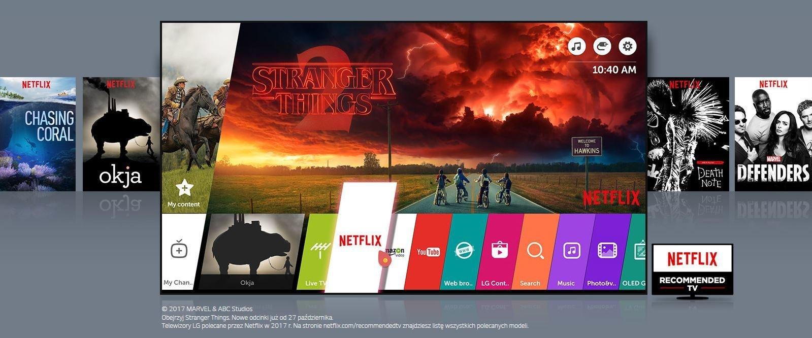 Jesień jeszcze nie była tak emocjonująca – LG daje Klientom darmowy dostęp do tysięcy produkcji na Netflix