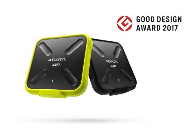 Dysk ADATA SD700 otrzymał nagrodę Good Design 2017