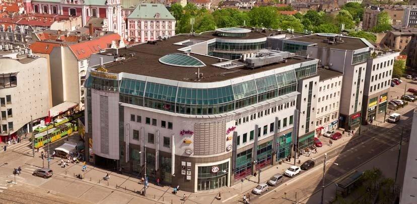 Modernizacja części biurowej Kupca Poznańskiego rozpoczęta