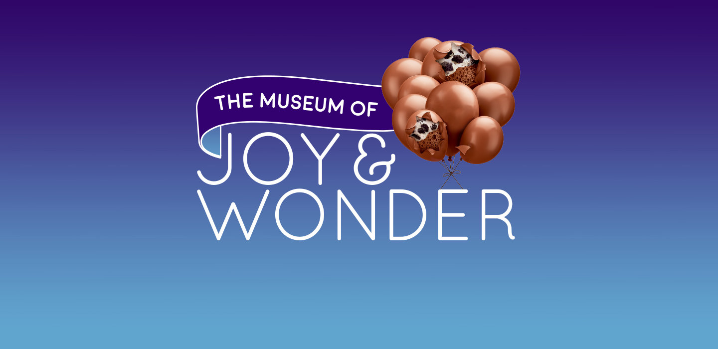Bubbly Oreo showcases The Museum of Joy and Wonder