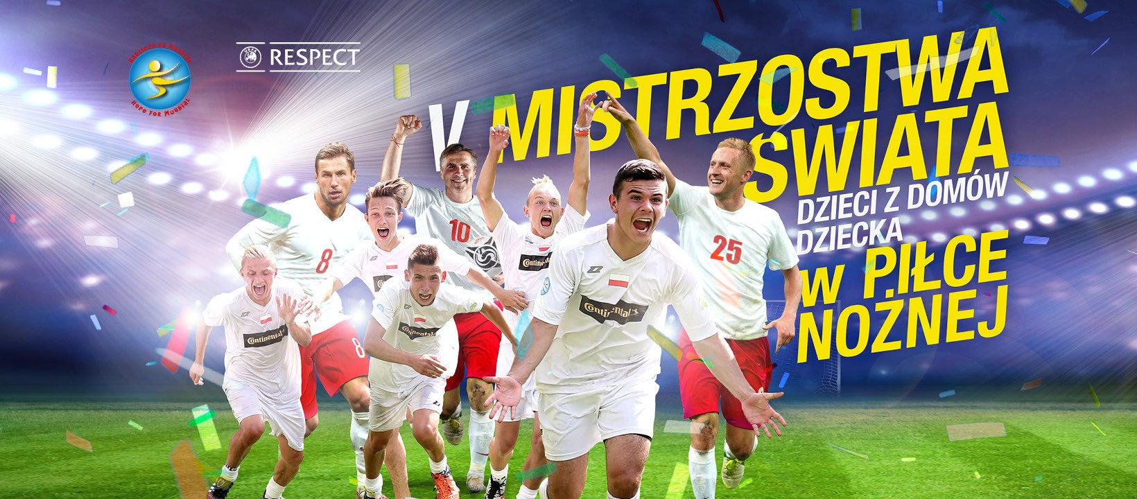 Hiszpania Mistrzem Świata Dzieci z Domów Dziecka w Piłce Nożnej!