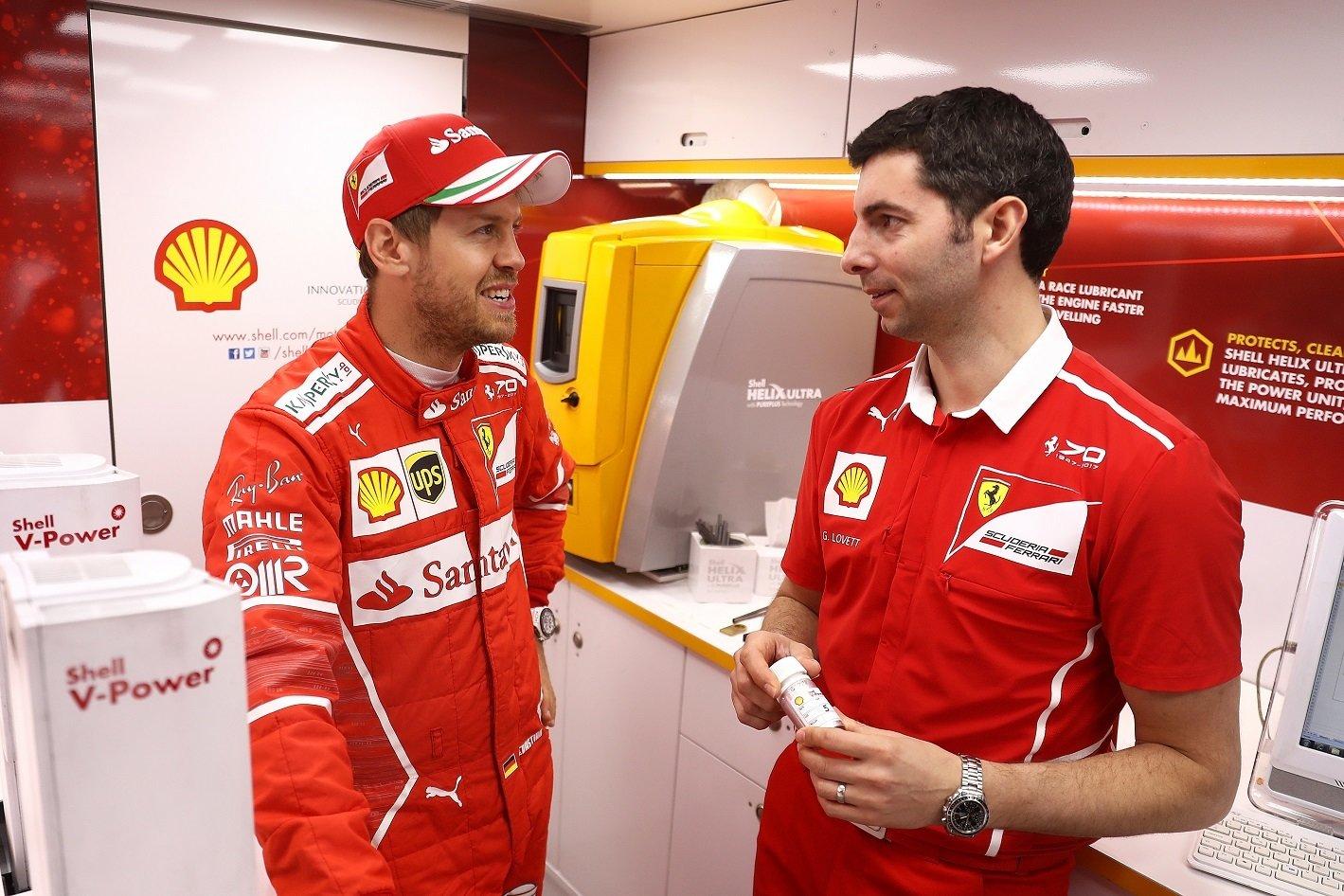 Lepsza wydajność silników bolidów Ferrari dzięki Shell