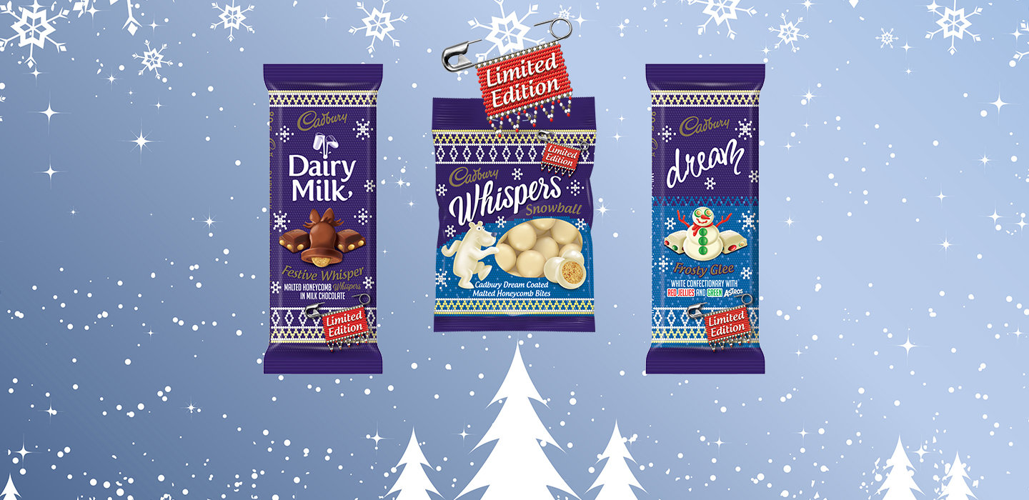 Share the Joy with Cadbury's New Limited Edition Festive Range
