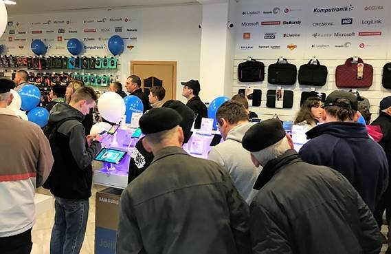Otwarcie Komputronik w Jaśle - nowy adres