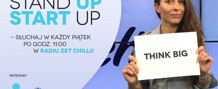 Stand Up Start Up! – ruszyła nowa audycja w partnerstwie z UPC Biznes, organizatorem THINK BIG