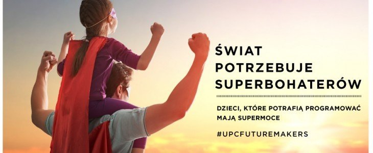 UPC Polska wspiera supermoce dzieci i promuje umiejętności programowania wśród najmłodszych