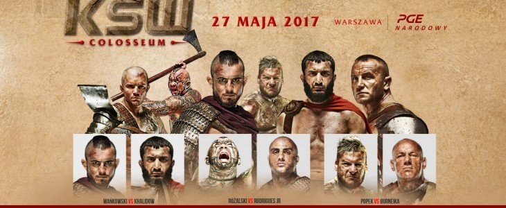 Gala KSW 39: Colosseum będzie dostępna w UPC w systemie pay-per-view