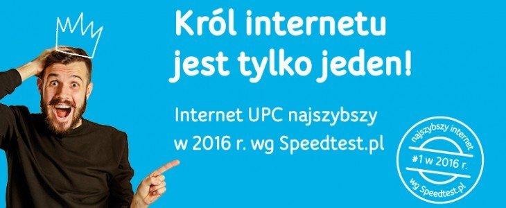 Nowa kampania UPC: Król internetu jest tylko jeden!