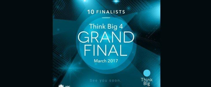 Finałowa dziesiątka międzynarodowej edycji programu dla przedsiębiorców THINK BIG UPC Biznes została wybrana