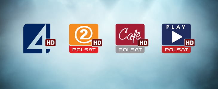 UPC wprowadza TV4HD, Polsat 2 HD, Polsat Cafe HD i Polsat Play HD