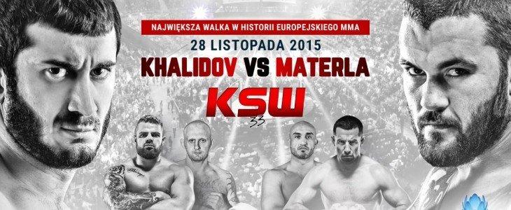KSW 33: Khalidov – Materla w Telewizji Cyfrowej UPC. Zobacz wywiad z Bedorfem