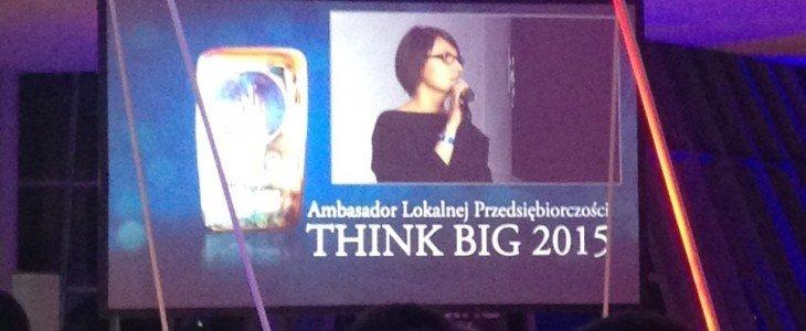 Nagroda dla Ambasadora Lokalnej Przedsiębiorczości Think Big wręczona