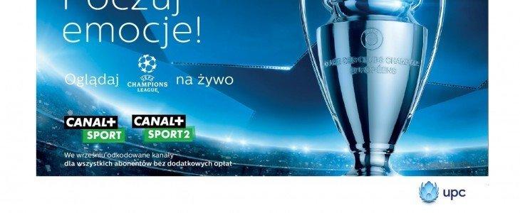 Canal+ Sport i Canal+ Sport 2 w promocji dla wszystkich abonentów pakietów SELECT i MAX