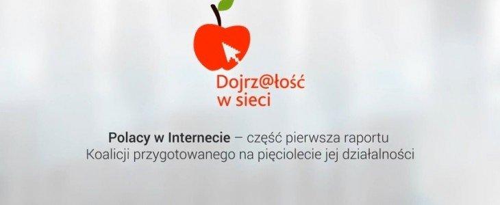 """Kompetencje cyfrowe Polaków a rynek pracy – wyniki badania Koalicji """"Dojrz@łość w sieci"""""""