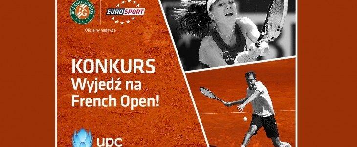 Wyjedź na French Open z Eurosportem i UPC. Zobacz film.